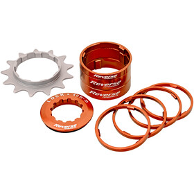 Reverse Single Speed Kit Kassett 13 Tenner Orange